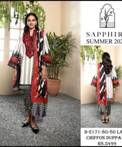 sapphire unstitched 2021 design