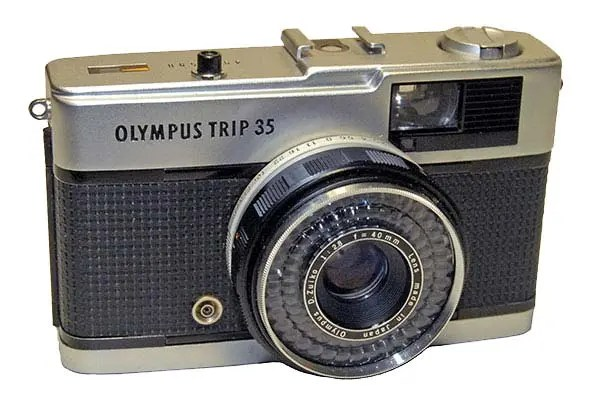 The Olympus Trip 35 was extremely popular back in the 1970s and 1980s.