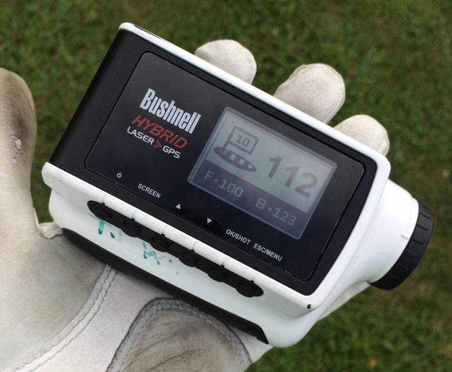 Bushnell Hybrid GPS Golf Rangefinder Review