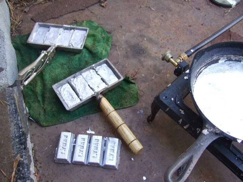 Casting Lead Bullets, The Eveloution of the Wheel Weight