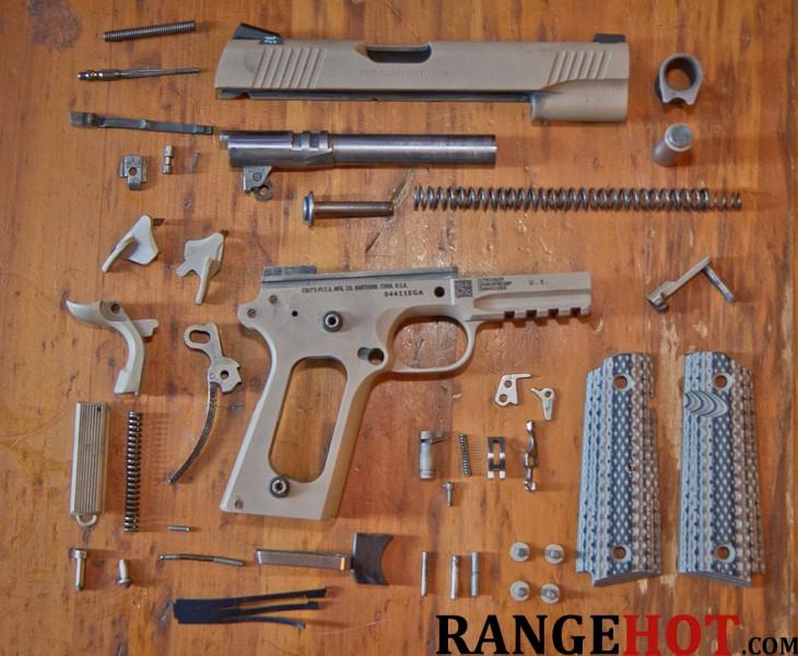 Colt M45a1 Cqb Marine Pistol