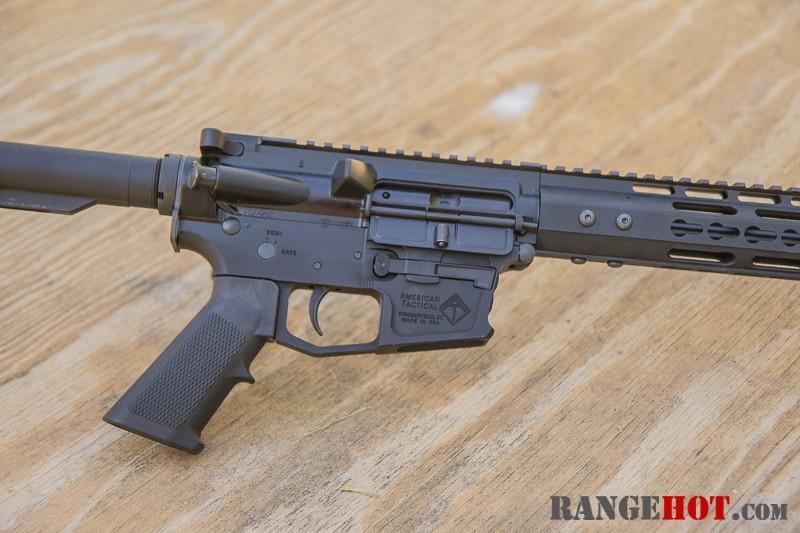 American Tactical Mil-Sport, 9mm Luger AR carbine  - Range Hot