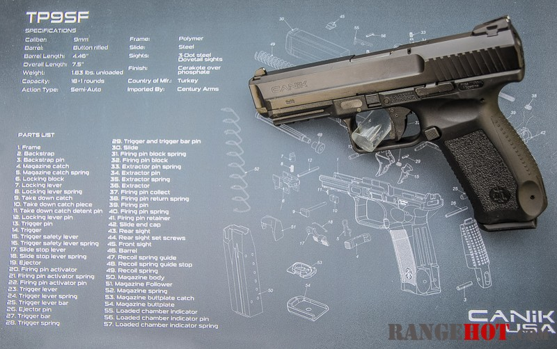 Canik TP-9 SF, affordable duty pistol that works - Range Hot