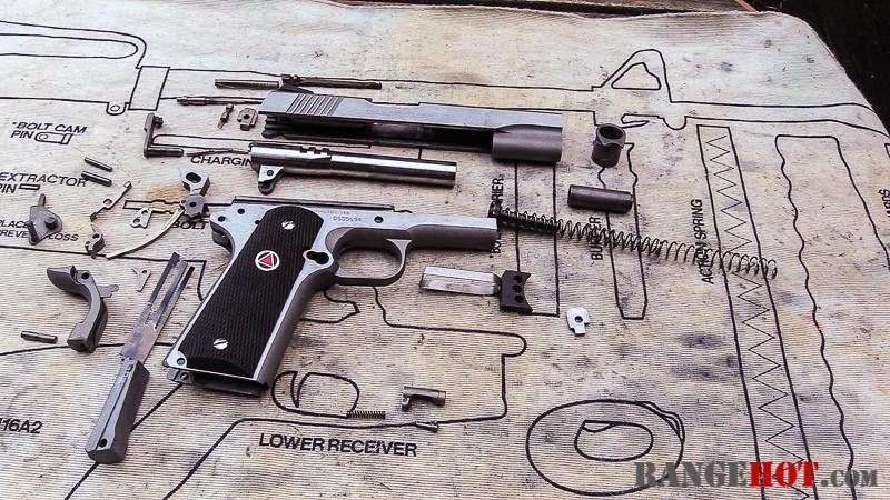 Colt Delta Elite Gen II, classy handcannon  - Range Hot