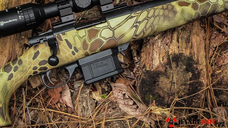 Howa 1500 MiniAction bolt action rifle  - Range Hot