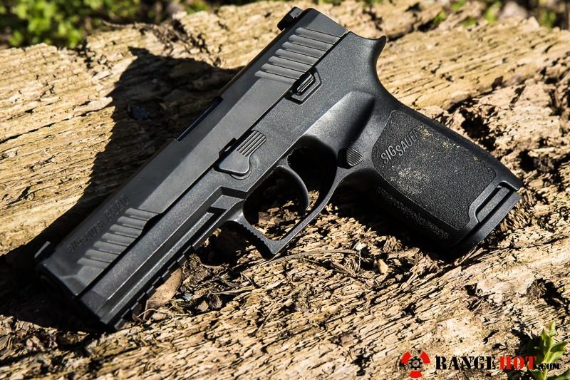 Sig Sauer P320 Nitron, a darling of a pistol  - Range Hot