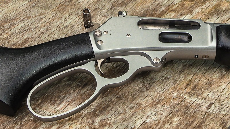 Marlin 1895 Trapper  45-70 lever action freight train - Range Hot
