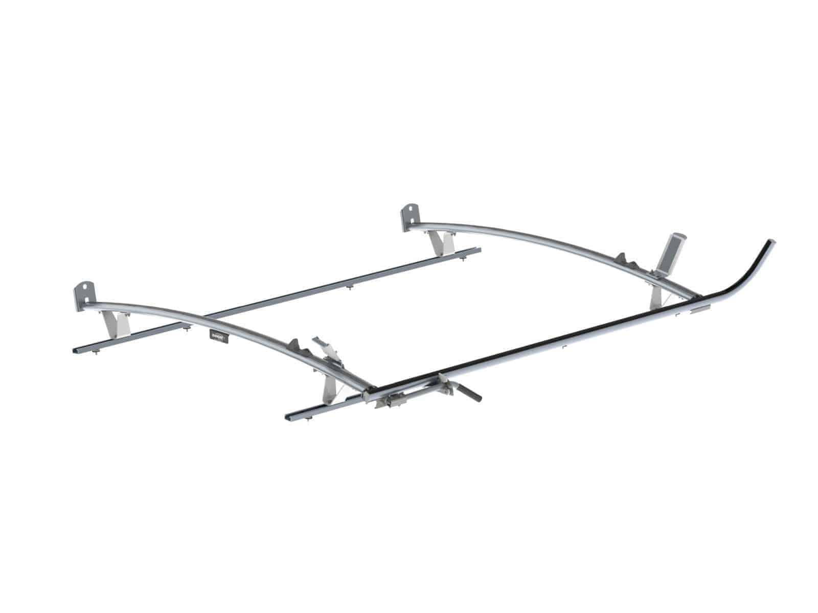 Single Side Ladder Rack For Ford Transit Lwb 2 Bar
