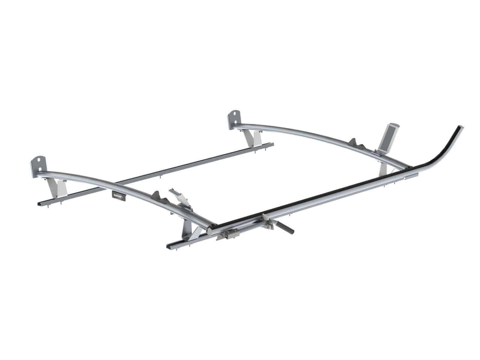 Single Side Ranger Ladder Rack 2 Bar System Ram
