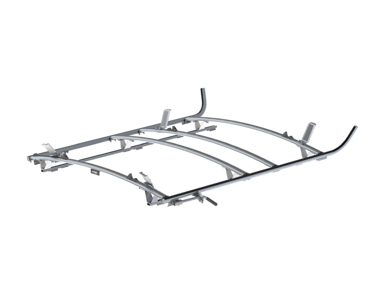 Combination Ladder Rack Aluminum 3 Bar Ram Promaster