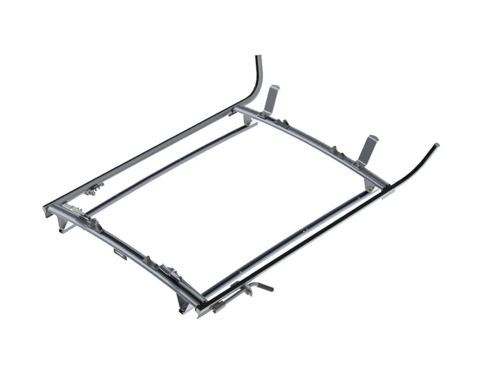 Double Clamp Ladder Rack Aluminum 2 Bar Nissan Nv200