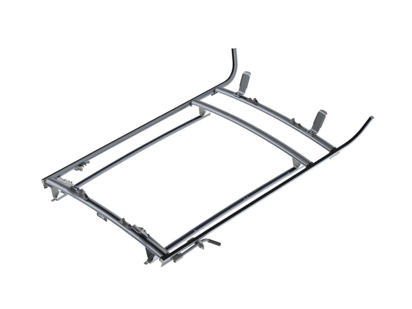 Double Clamp Ladder Rack Aluminum 3 Bar Nissan Nv200