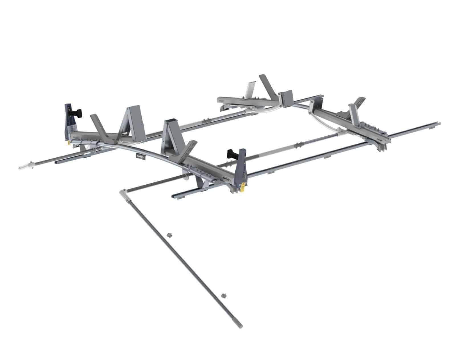 Double Side Max Rack Aluminum 2 Bar Ram Promaster 159