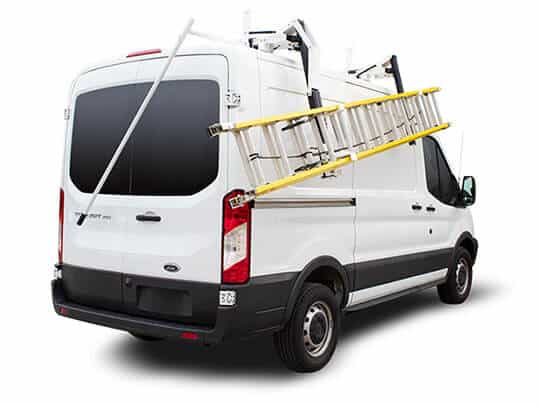 heavy duty aluminum van racks ranger