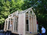 Sheathing begins