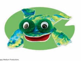 Felt Frog Friend