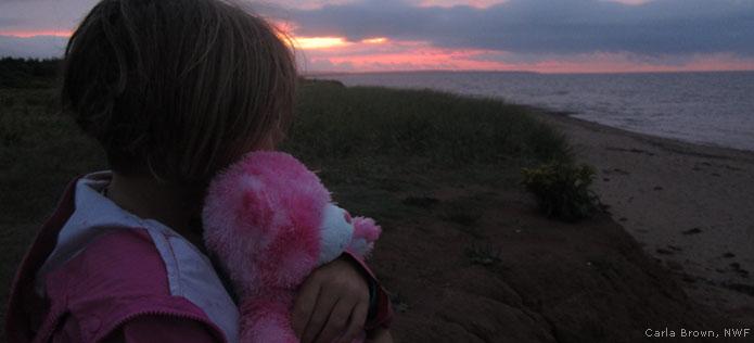 girl at sunrise 2