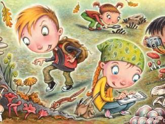 Mushroom Hunt by Debbie Palen 1156x650