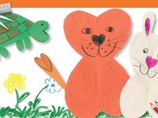 Valentines Animals Craft