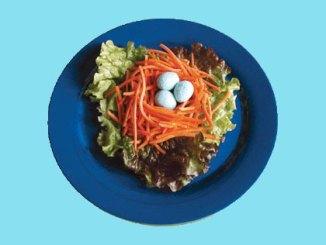 bird nest salad