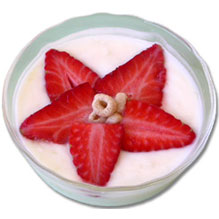 yogurt flower