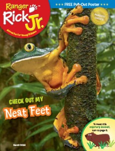 Ranger Rick Jr March 2016 Cover