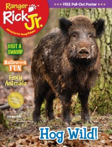 Ranger Rick Jr October 2016 Cover
