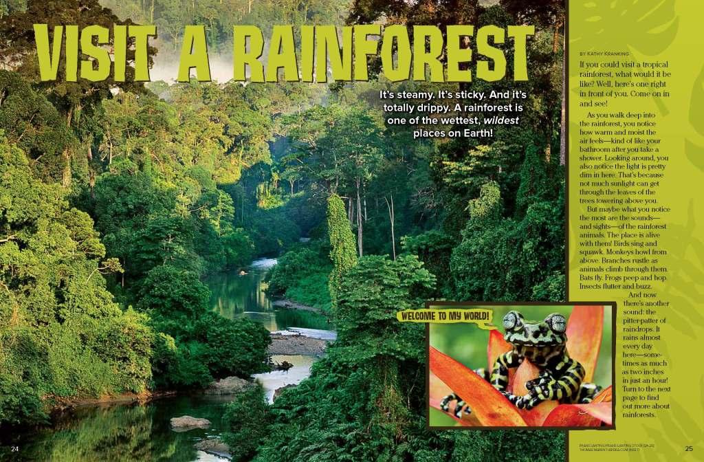 Ranger Rick Rainforest December January 2015 1