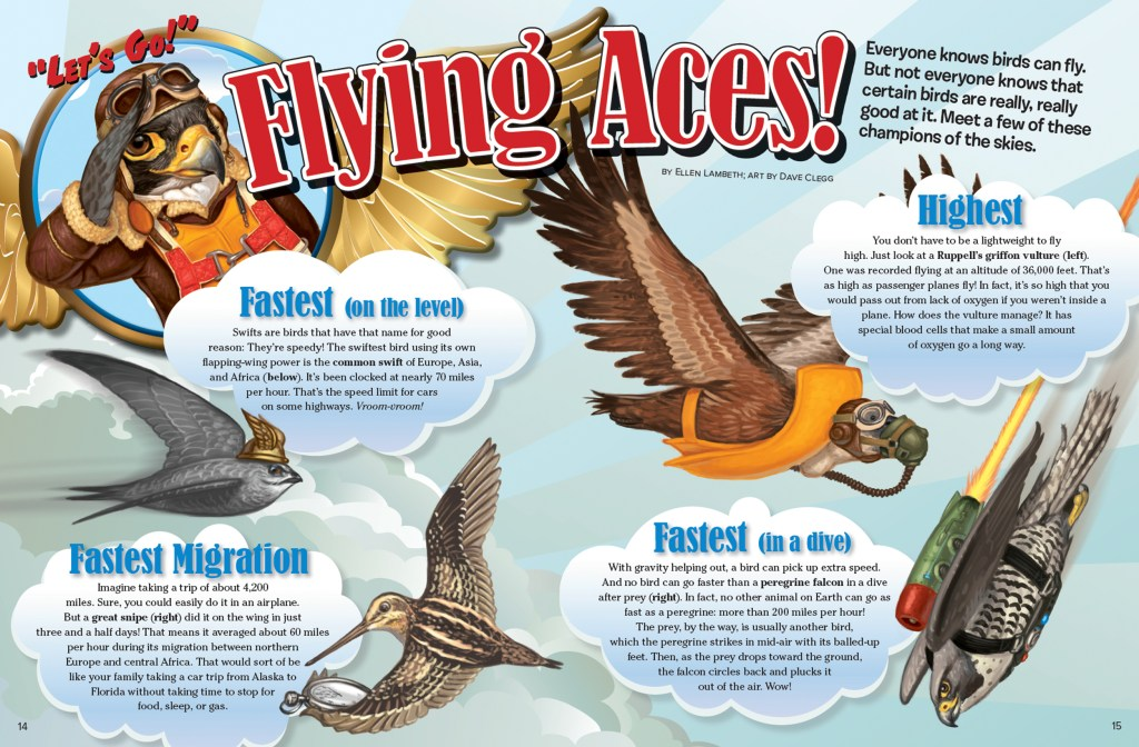 Ranger Rick Flying Aces March 2016 1
