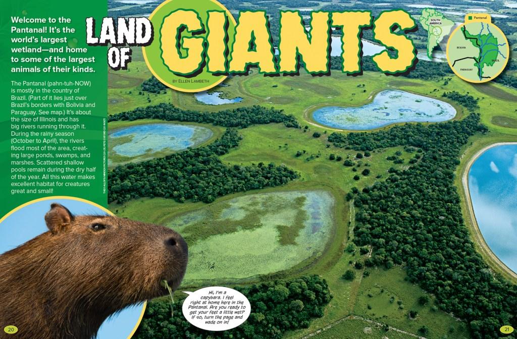 Ranger Rick Land of Giants December January 2016 1