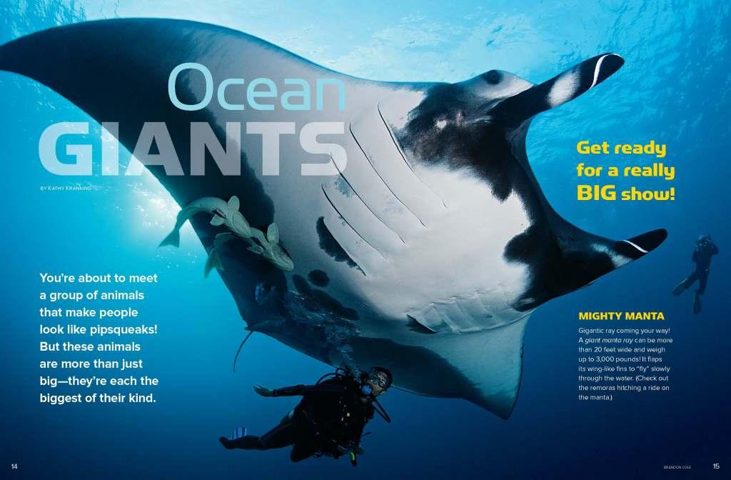 Ranger Rick Ocean Giants March 2013 1