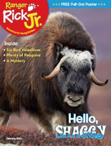 Ranger Rick Jr February 2014 Cover
