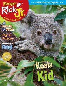 Ranger Rick Jr June July 2015 Cover