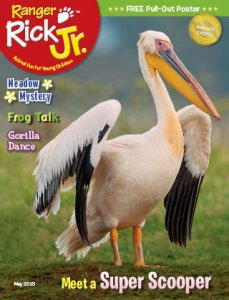 Ranger Rick Jr May 2015 Cover