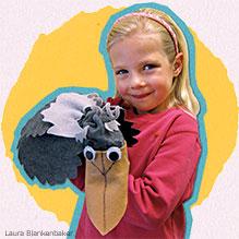 Shoebill sock puppet