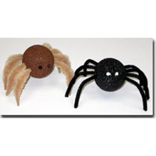 Styrofoam spiders