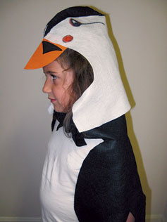 Puffin costume step 1