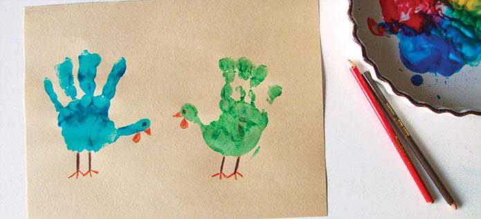 2 turkey placemat