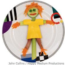 veggies scarecrow