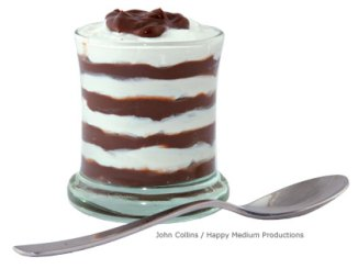 zebra pudding