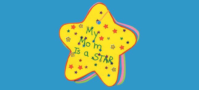 Moms a star card