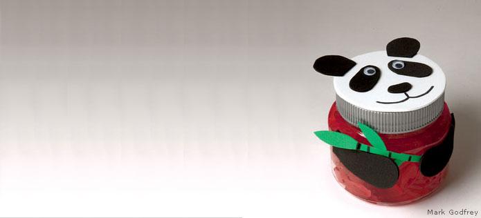 Panda jar