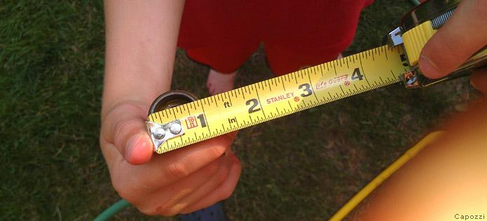 Measuring pipe