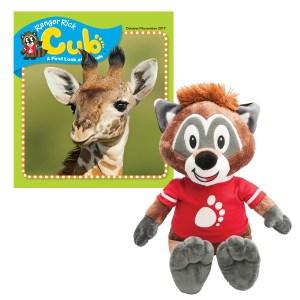 Cubby Plush and Cub Magazine
