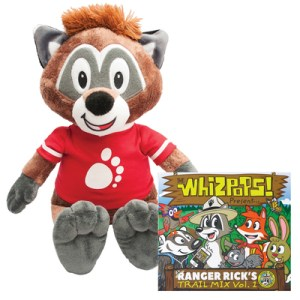 Cubby Plush and Trailmix CD