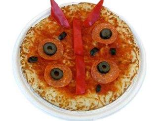 ladybug pizza