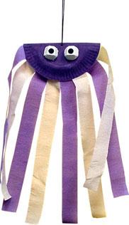 Octopus wind dancer