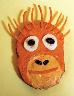 Orangutan hummus