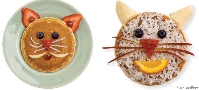 cat pancakes