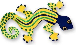 yellow gecko